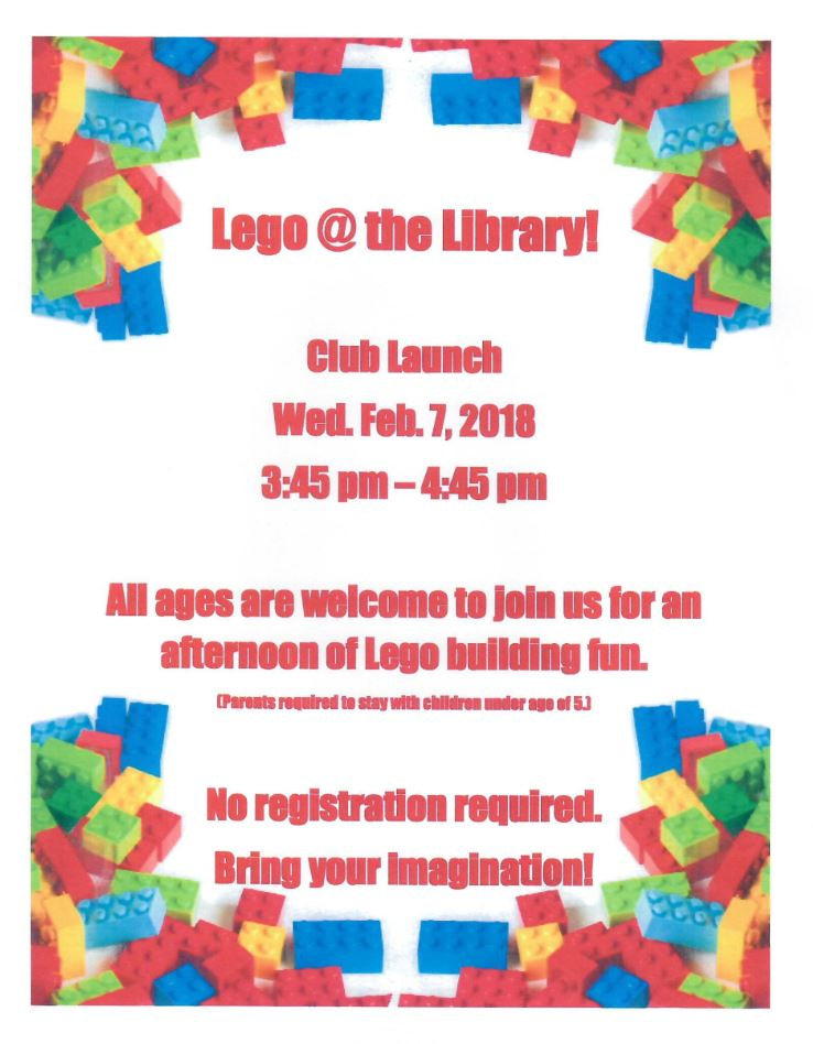 Lego Club at the Library