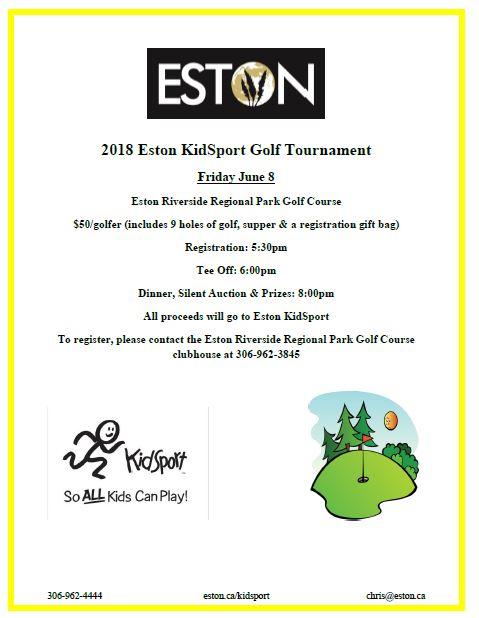 KidSport Golf Tournament