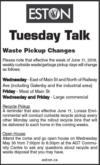 Recycle & Waste Community Update