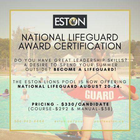 National Lifeguard Course