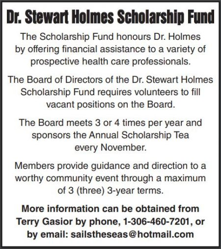 Scholarship Board Members Needed