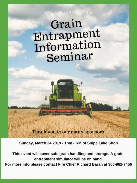 Grain Entrapment Seminar