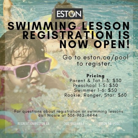 Swimming Lesson Information