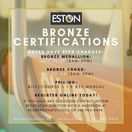 Bronze Courses