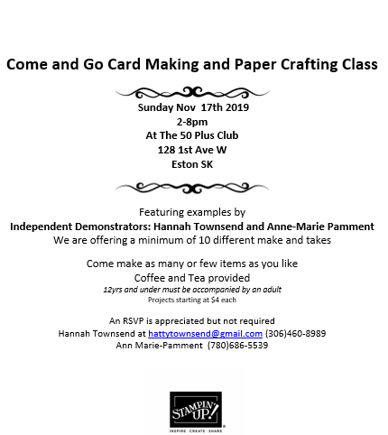 Card Making Class