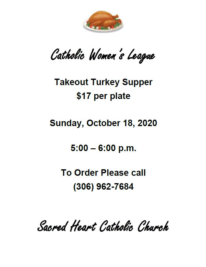 CWL Turkey Supper